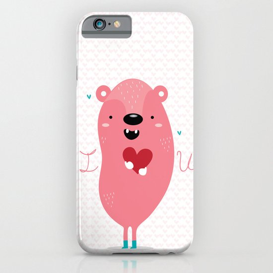 I heart u iPhone & iPod Case