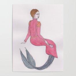 Sjöjungfrun Renässans Poster