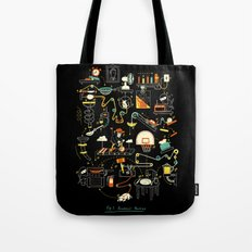 Breakfast Machine Tote Bag