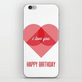Birthday Wishes for My Dearest Friend iPhone Skin