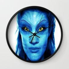 Angelina Jolie Avatar Wall Clock