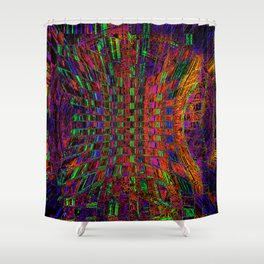 Way Out There Shower Curtain