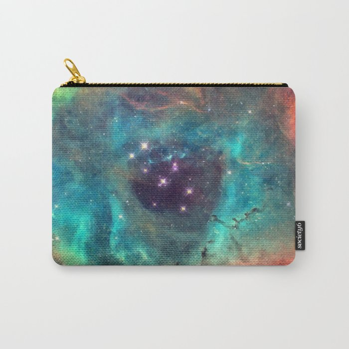 Colorful Nebula Galaxy Carry-All Pouch