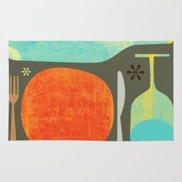 Wine & Dine Kitchen Art Rug