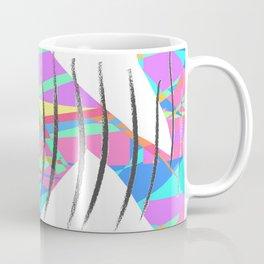 Geometric Color Slashes Coffee Mug