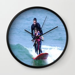 Matt & Alanna Wall Clock