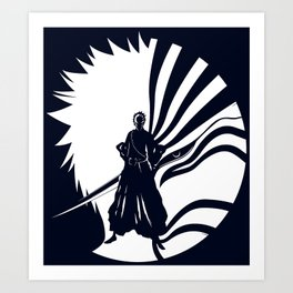 Hollow Ichigo - Bleach Art Print