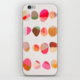Painted Pebbles 5 iPhone Skin