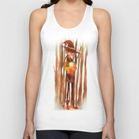fireflies Tank Tops featuring Fireflies by Mugges