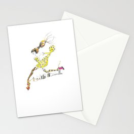 Legging It Stationery Cards