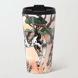 African Wild Dogs Travel Mug