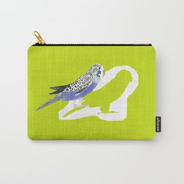 Pistachio shadow parakeet Carry-All Pouch