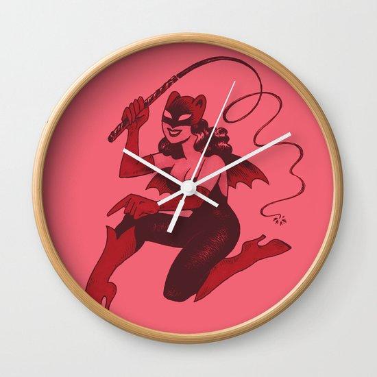 Obey Gerbilgirl! Wall Clock