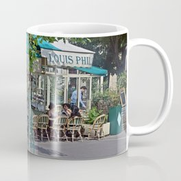 Teal Cafe Coffee Mug