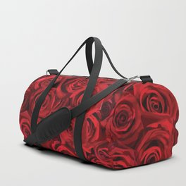 Valentine's day rose Duffle Bag