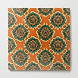 African Pattern Metal Print