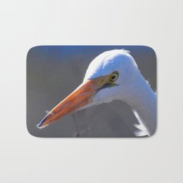 Great Egret Bath Mat