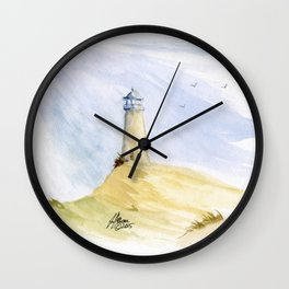 Lighthouse Impressions IV Wall Clock