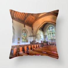 St Peter And St Paul Church Headcorn Kent Throw Pillow