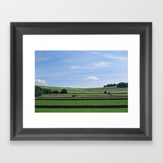 Derby, England Framed Art Print