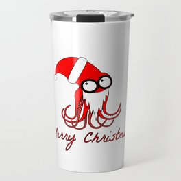 Santa Octopus Travel Mug