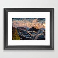 Seashore Lovin'  Framed Art Print