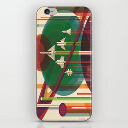 The Grand Tour : Vintage Space Poster iPhone Skin