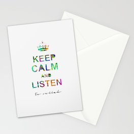 Listen To Sellah  Stationery Cards