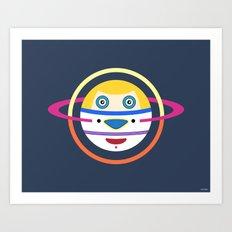Spaceman 4 Art Print
