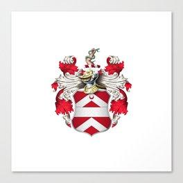 Coat of Arms - Nourse of Virginia Canvas Print