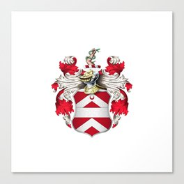 Coat of Arms - Nourse of Virginia Canvas Print