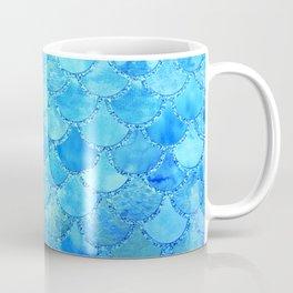 Summer Dream Colorful Trendy Mermaid Scales Coffee Mug