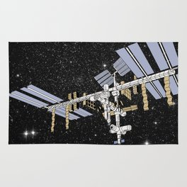 ISS- International Space Station Rug