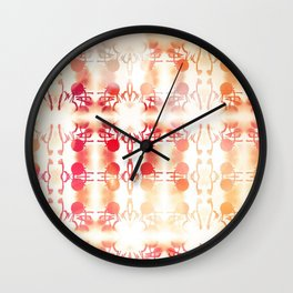 Tie Dye Vintage Abstract Wall Clock