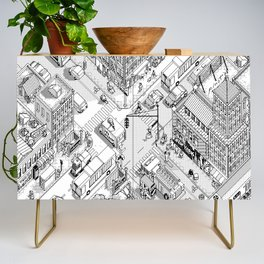 MacPaint project: NYC Credenza