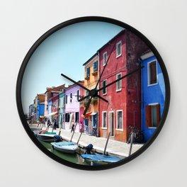 allegro Burano Wall Clock