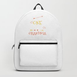 One Thank Grandma Happy Thanksgiving Day Backpack