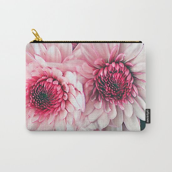 Pink asters. Carry-All Pouch