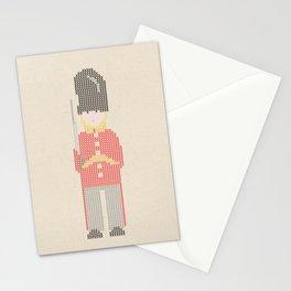 English Bobby Cross Stitch Stationery Cards