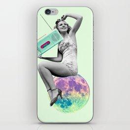 DJ Ladybabe iPhone Skin