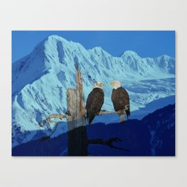 Seeing Double! Canvas Print