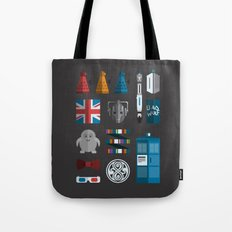 doctor who grid 1 Tote Bag