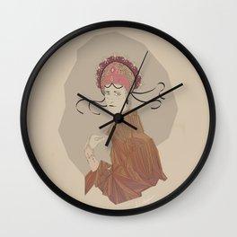 Queen I Wall Clock