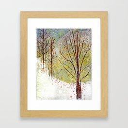 Spring Snow in Dewdrop Holler Framed Art Print