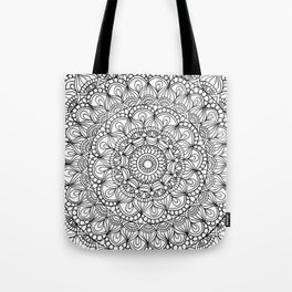 Stress Relief Pattern 3 Tote Bag