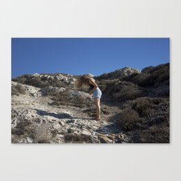 the wind Canvas Print