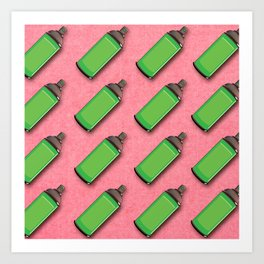 Spraycan pattern Art Print