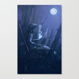 In Her Memory Canvas Print