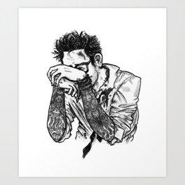 Newton Geiszler Art Print