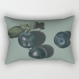 Plum Still Life Rectangular Pillow
